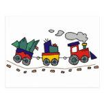 Christmas Train Post Cards