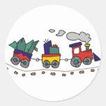 Christmas Train Stickers