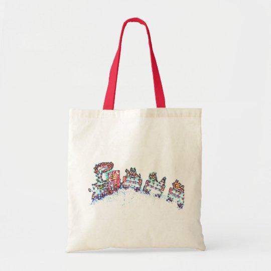Christmas Train Tote