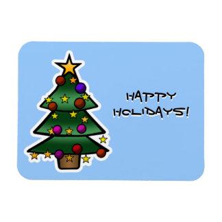 Christmas Tree 1 Magnets