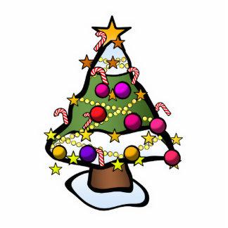 Christmas Tree 4 Photo Cutout