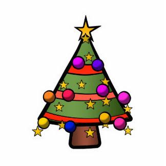 Christmas Tree 5 Photo Cutouts