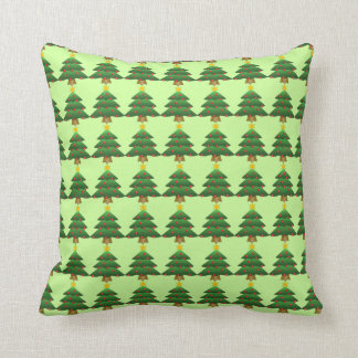 Christmas Tree Accent Pillow