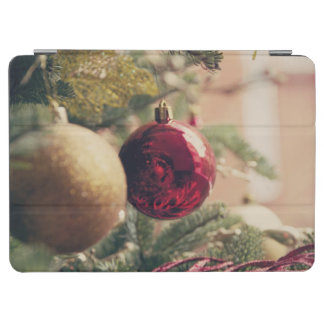 Christmas tree and decoration iPad air cover