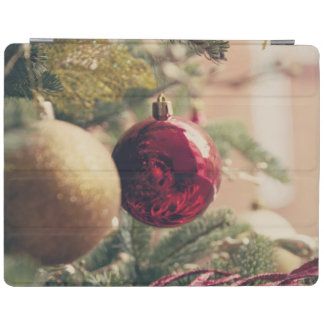 Christmas tree and decoration iPad cover