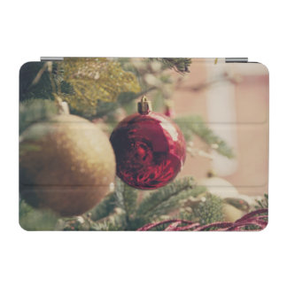 Christmas tree and decoration iPad mini cover
