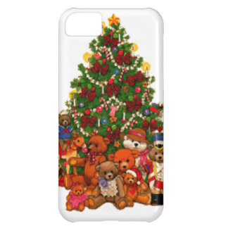 Christmas Tree and Teddy Bears iPhone 5C Case