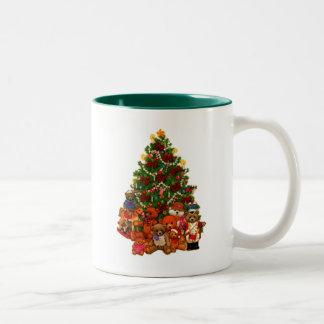 Christmas Tree and Teddy Bears Coffee Mug