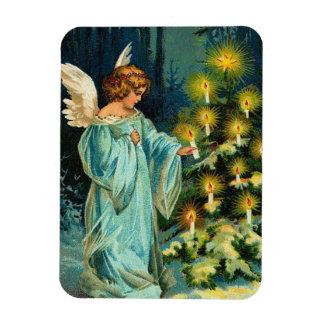 Christmas Tree Angel Magnet