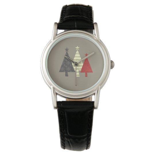 Christmas Tree Artistic Stylish Graceful Elegant Watch