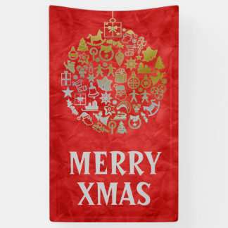 Christmas tree ball ornaments + your ideas banner