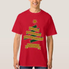 Christmas Tree Banner Typography Star Personalised T-Shirt