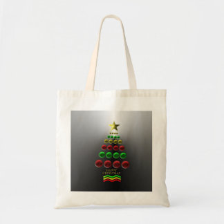 Christmas Tree Baubles Tote Clothe Bag