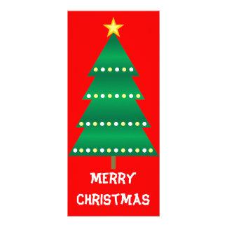 Christmas Tree Bookmark 10 Cm X 23 Cm Rack Card