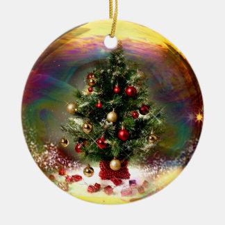 Christmas Tree Bubble Ornament