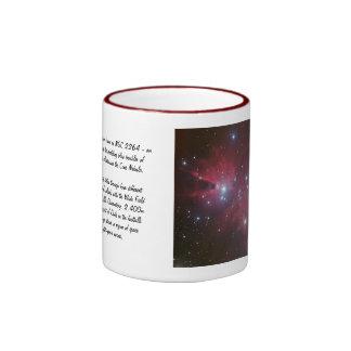 Christmas Tree Cluster - NGC 2264 Ringer Mug