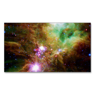 Christmas Tree Cluster (outer space) ~.jpg Magnetic Business Cards