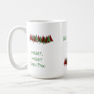 Christmas Tree Coffee Mug (Merry Christmas)