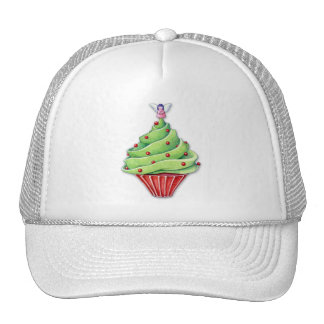 Christmas Tree Cupcake Hat