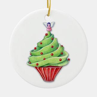 Christmas Tree Cupcake Ornament