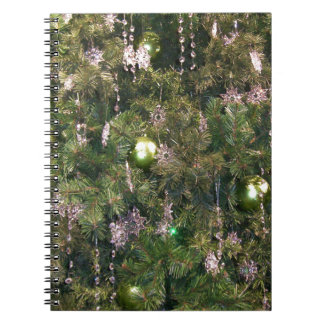 Christmas Tree Decor Spiral Notebooks