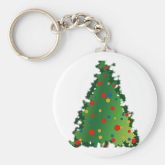 Christmas Tree Decoration Key Chains