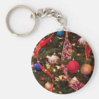 Christmas Tree Decorations Key Chain