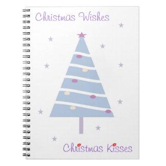 Christmas Tree Design Notebook (template)