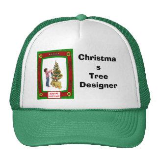 Christmas Tree Designer Cap