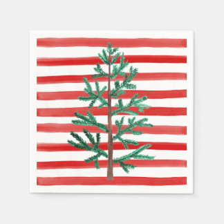 Christmas Tree Disposable Napkins