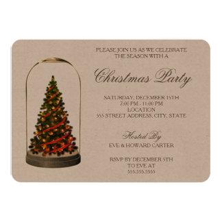 CHRISTMAS TREE DOME |  CHRISTMAS PARTY INVITATION
