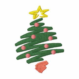 CHRISTMAS TREE EMBROIDERED POLO SHIRT