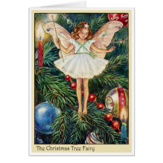 Christmas Tree Fairy Card