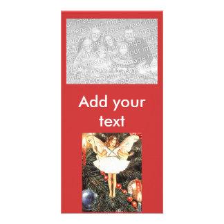 Christmas Tree Fairy Customized Photo Card