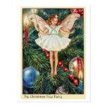 Christmas Tree Fairy Postcards