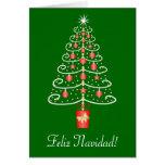 Christmas Tree Feliz Navidad Spanish Christmas