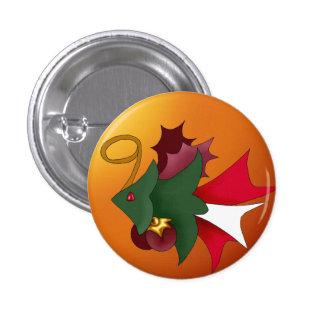 Christmas Tree Fish Button Small