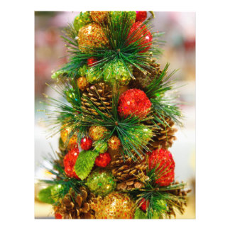 Christmas tree full color flyer