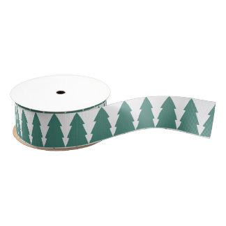 Christmas Tree Forest Grosgrain Ribbon
