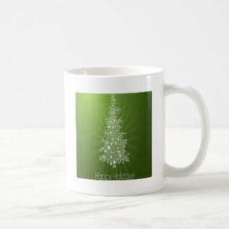 Christmas tree freebie design basic white mug