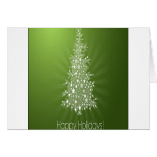 Christmas tree freebie design greeting cards