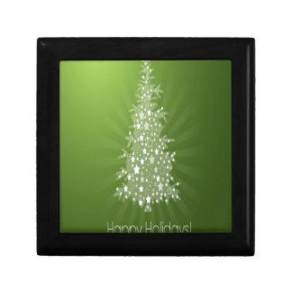 Christmas tree freebie design keepsake box
