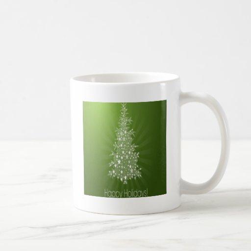 Christmas tree freebie design coffee mug
