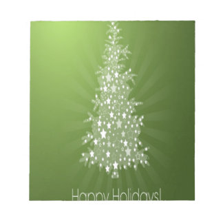 Christmas tree freebie design memo pads