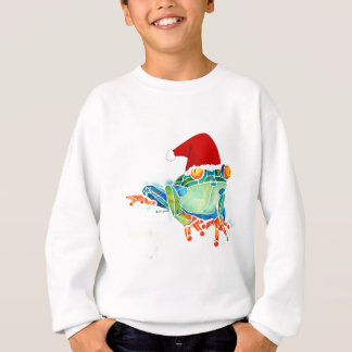 Christmas Tree Frog Sweat Shirt