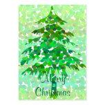Christmas tree - Gift tag card