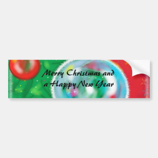 Christmas Tree - gorgeous Greeting Bumper Stickers