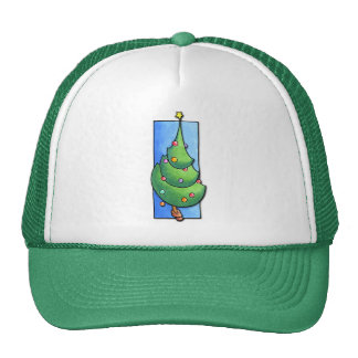 Christmas Tree green Hat