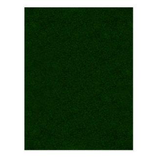 CHRISTMAS TREE GREEN (solid holiday color) ~~ Postcard
