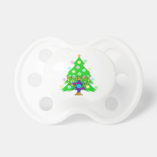 Christmas Tree Hanukkah Menorah Dummy
